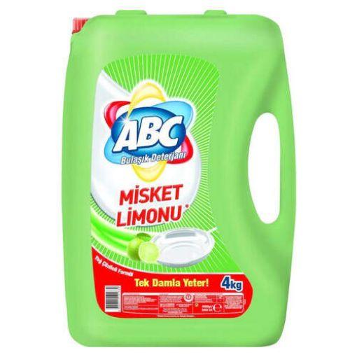 Abc Misket Limonu 4 Kg Sıvı Bulaşık Deterjanı resmi