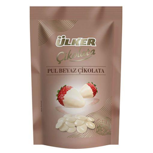Ülker Pul Beyaz Çikolata 120G resmi