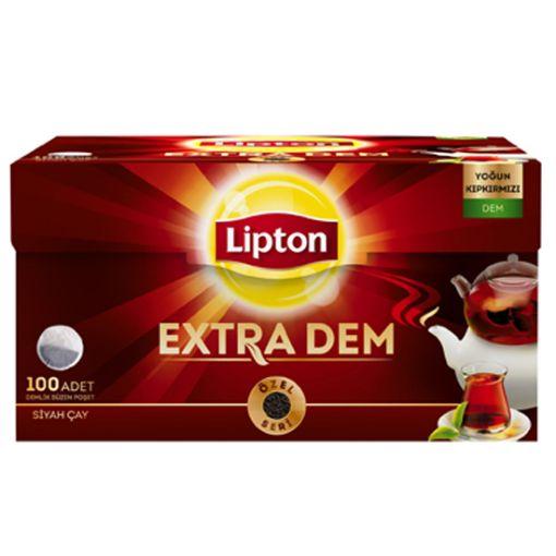 Lipton Earl Grey Demlik Süzen Poşet Çay 100 Adet resmi