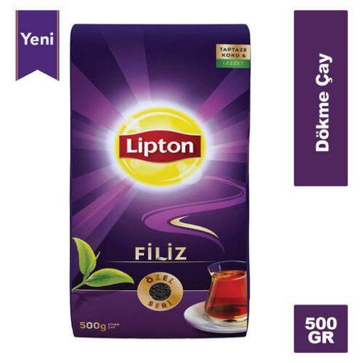 Lipton Dökme Çay Filiz 500 Gr resmi