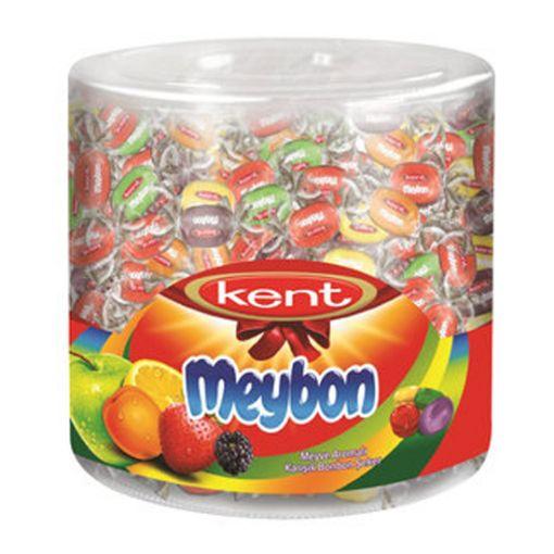 Kent Meybon Meyve Aromalı Karışık Bonbon Şeker 504 Gr resmi