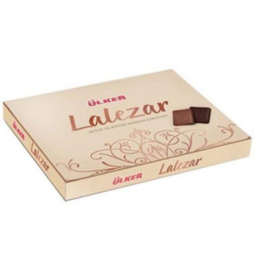 Ülker Lalezar Sütlü Ve Bitter Madlen Çikolata 210 Gr resmi