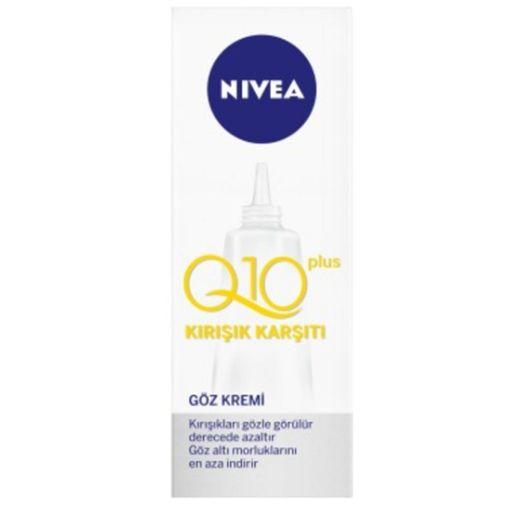 Nivea Visage Q10 Power Kırışık Karşıtı Göz Kremi 15 Ml resmi