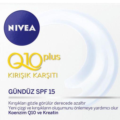 Nivea Visage Q10 Power Kırışık Karşıtı Sıkılaştırıcı Krem 50 Ml resmi