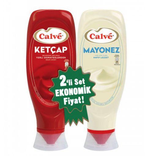 Calve Ketçap 600 Gr + Mayonez 540 Gr | resmi