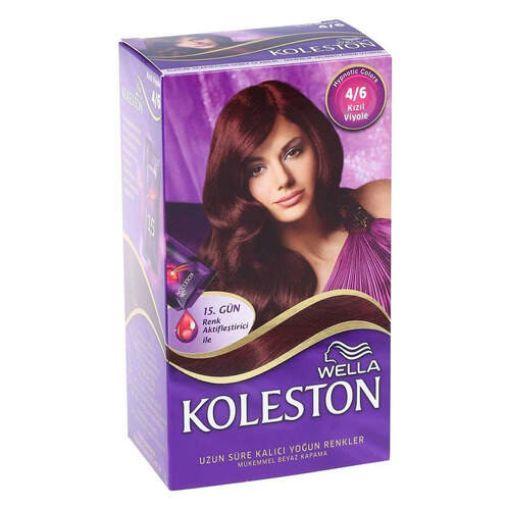 Koleston Set 4.6 Kızıl Viyole Saç Boyası resmi