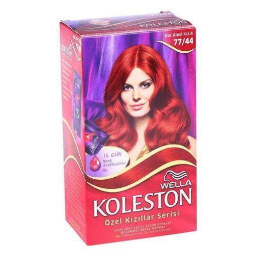 Koleston Set 77.44 Kor Ateşi Kızılı Saç Boyası resmi