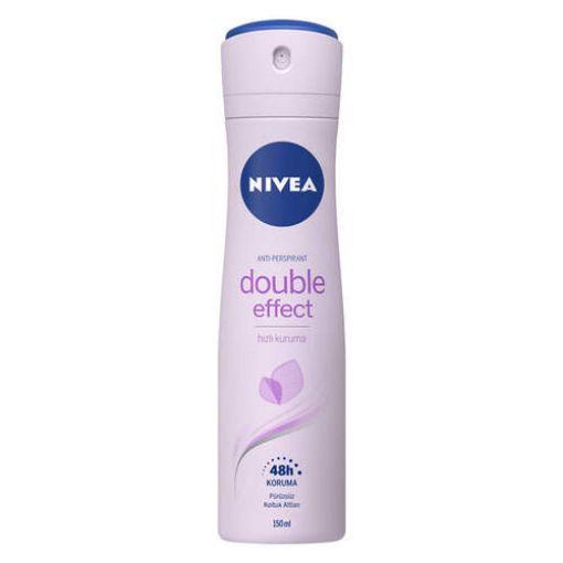 Nivea Deodorant Double Effect 150 Ml resmi