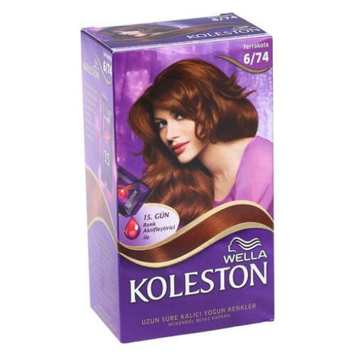 Koleston Set 6/74 Terrakota Saç Boyası resmi