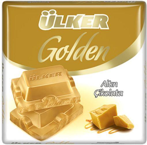 Ulker Cıkolata Golden Altın 60 Gr resmi