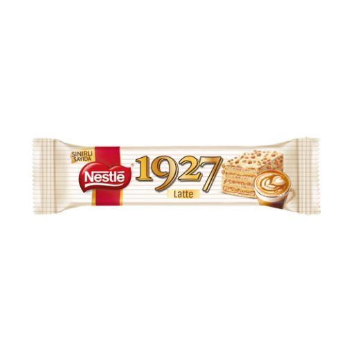 Nestle Gofret 32 Gr 1927 Beyaz Latte resmi