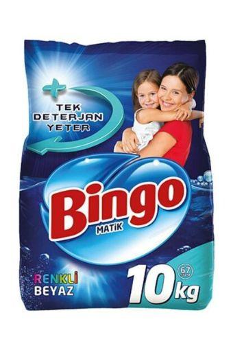 Bıngo Automat 10 Kg Renklı Beyaz resmi