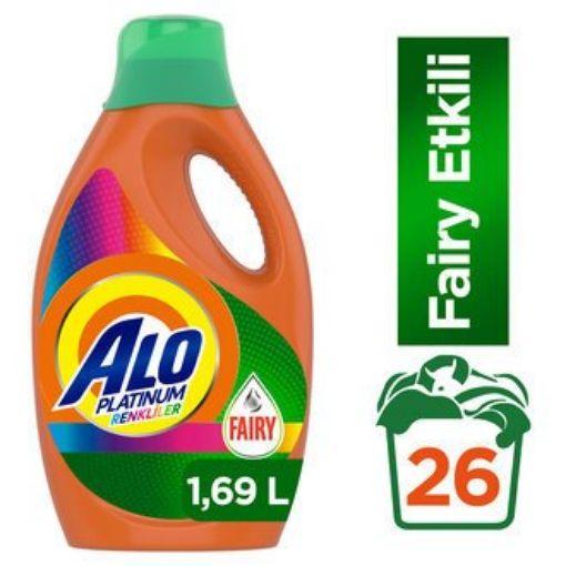 Alo Sıvı Deterjan 1,69 Lt Faıry Etkılı Renklı resmi