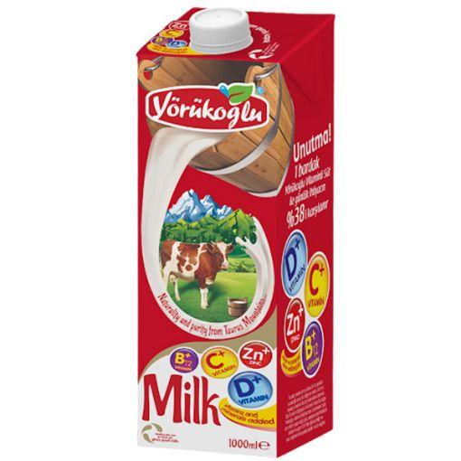 Yörükoğlu Süt Vitaminli 1 Lt resmi