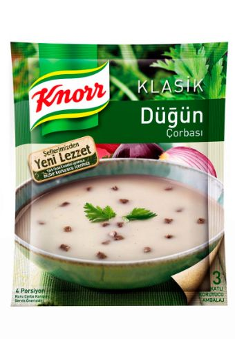 Knorr Klas. Corba Düğün 72 Gr resmi