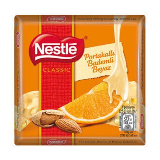Nestle Kare 65 Gr Beyaz Port-Badem resmi