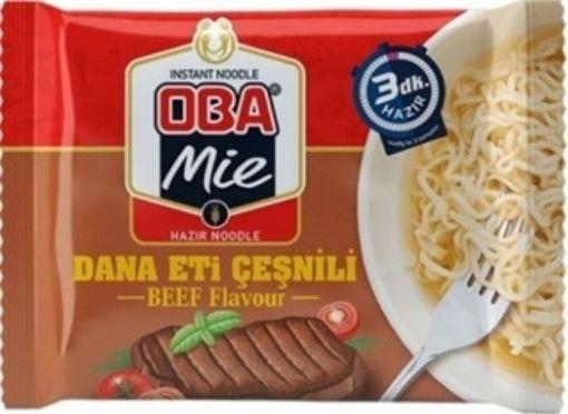 Oba Mıe Noodle 70 Gr Dana Cesnılı resmi