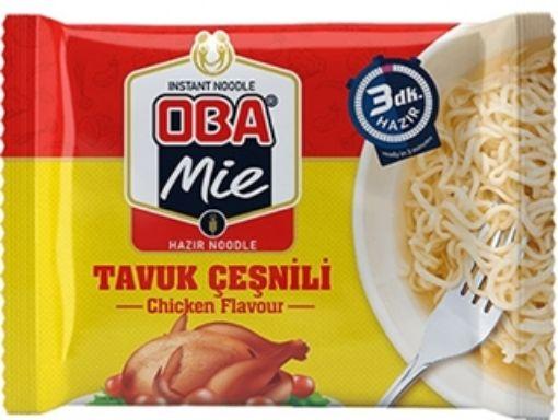 Oba Mıe Noodle 70 Gr Tavuk Cesnılı resmi