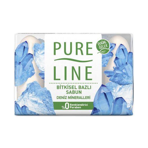 Pure Lıne Guzellık Sabunu 4X70 Gr Denız Mıneral resmi