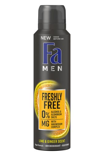 Fa Deo 150 Ml Freshly Free Sarı Men* resmi