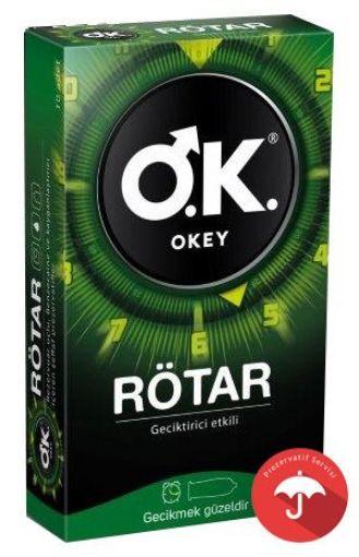 Okey Prezervatif Rötar 10 Lu resmi