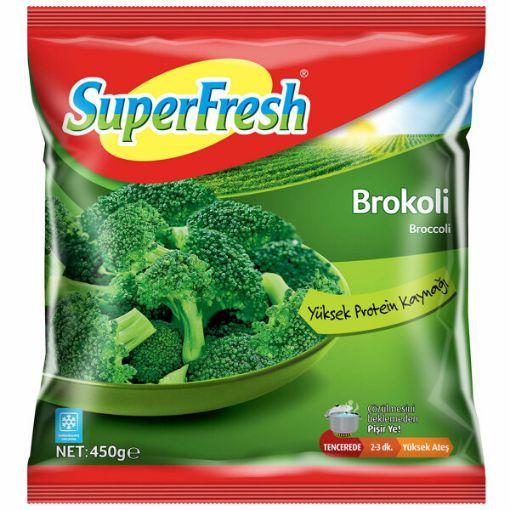 Superfresh Brokolı 450 Gr resmi