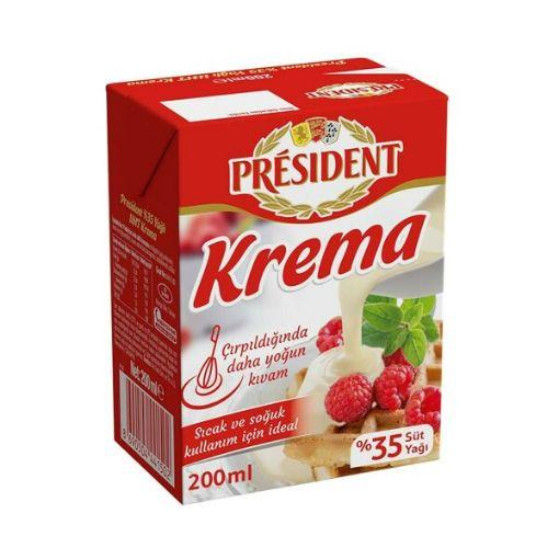 Presıdent Krema 200 Ml resmi