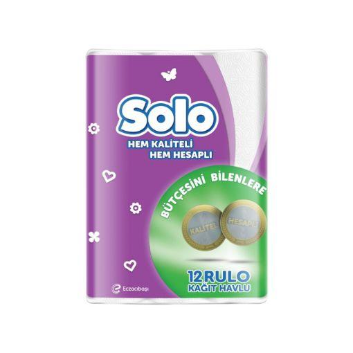 Solo Havlu 4 Lu  Akıllı Secım resmi