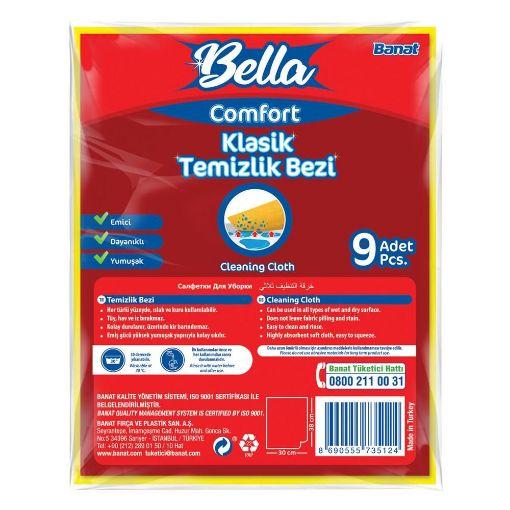 Banat Comfort Temızlık Bezı 9- Lu resmi