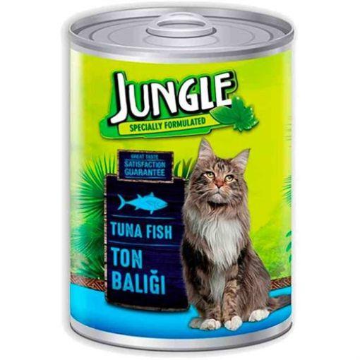 Jungle Ton Balıklı Kedi Maması 415 Gr resmi