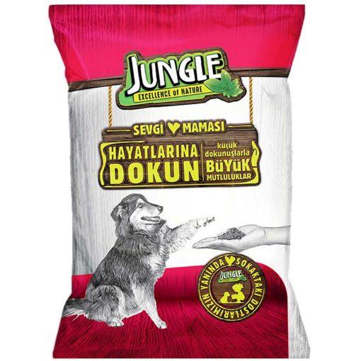 Jungle Tavuklu Yetişkin Köpek Maması 125 Gr resmi