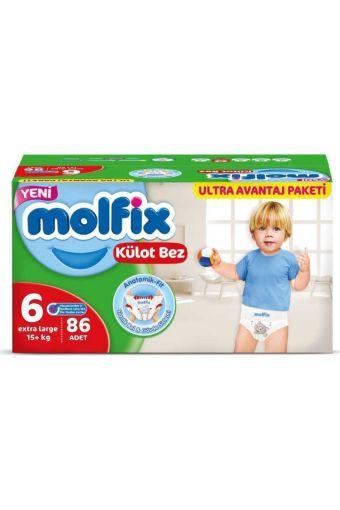 Molfıx Pants 3D Ultra  Avantaj Pk 6 X Large 86- Lı resmi