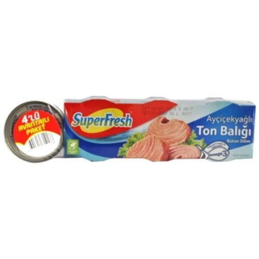 SUPERFRESH TON BALIGI 4 X 75 GR. KLASIK resmi