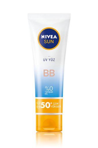 Nivea Sun Bb Güneş Koruyucu Yüz Kremi Gkf50+ 50 Ml resmi