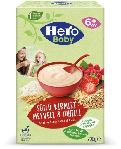 Hero Baby 200 Gr Kırmızı Meyv.Tahıl resmi