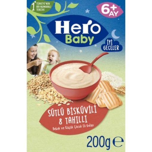 Hero Baby 200 Gr Sutlu Bıskuvılı  Tahıllı resmi