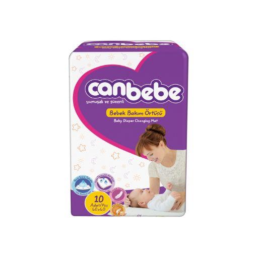 Canbebe Bebek Bakım Örtüsü 60X60 resmi