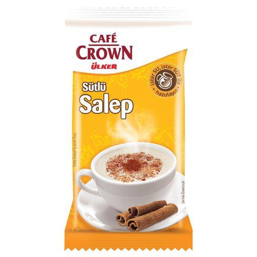 ULKER TEK CAFE CROWN SALEP 15 GR resmi