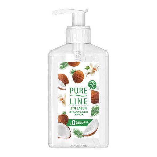 Pure Lıne Sıvı Sabun 280 Ml Hın.Cevızı  Vanılya resmi