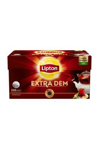 Lipton Extra Dem Demlik Poşet Çay 100'lü resmi