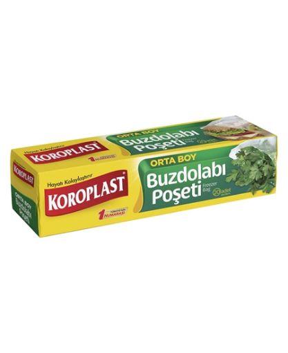 Koroplast Buzdolabı Poşeti Orta 20'li   resmi