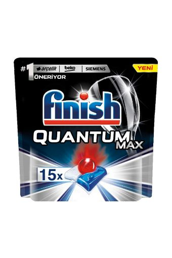 Finish Bulaşık Makinesi Deterjanı Quantum Max Tablet 15'li resmi