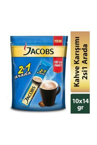 Jacobs 10´Lu 2si 1 Arada Kahve resmi